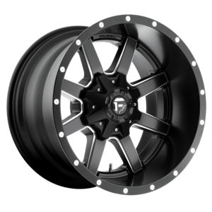Fuel Wheels Chrome Maverick