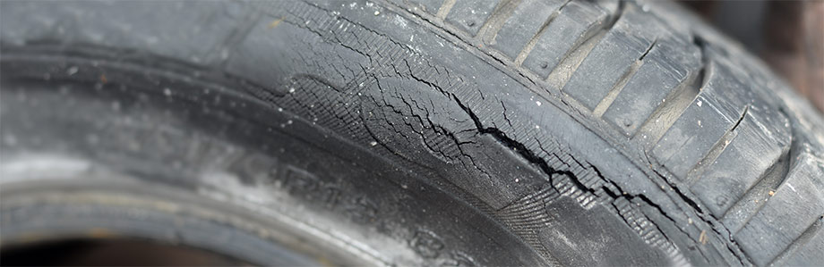 dry rot on a tire