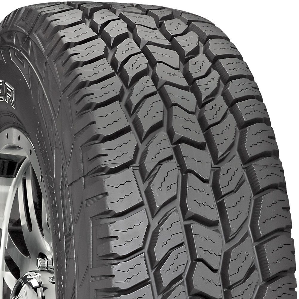 with Outlined White Lettering Cooper Discoverer AT3 285//70R17 Tire All Season All Terrain//Off Road//Mud