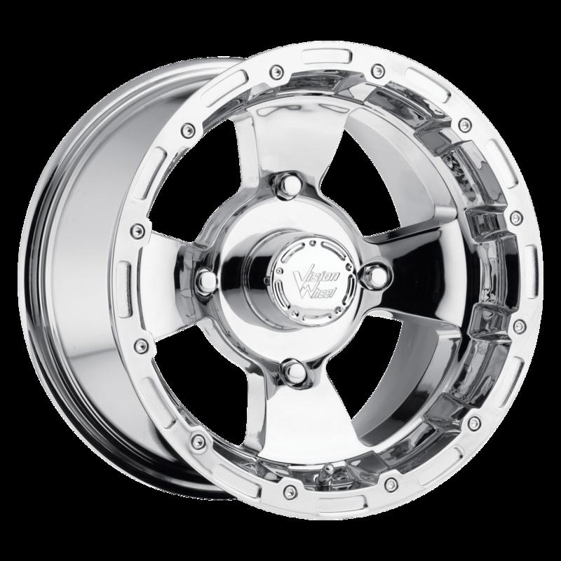 Atv Wheel Weights : Vision atv wheels modular chrome utv