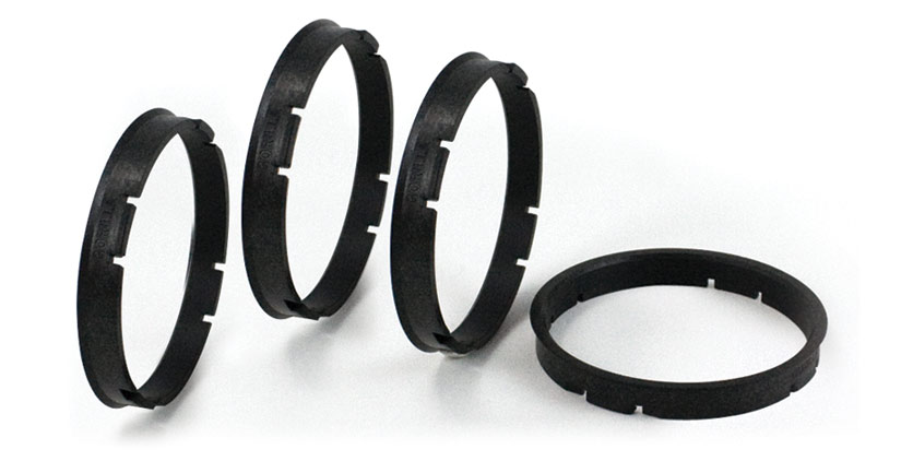 Hub rings for wheels