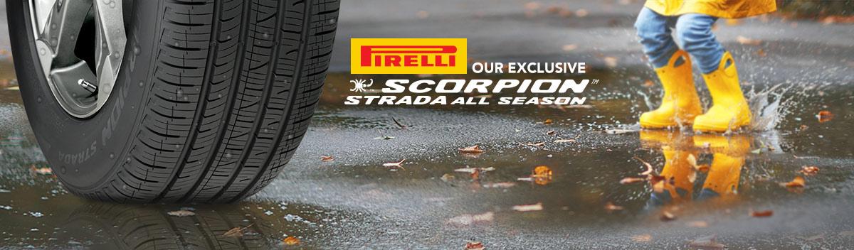 Pirelli Scorpion Strada A/S