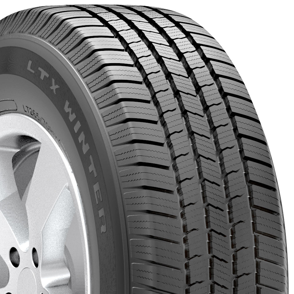 Winter tires are meant handle both dry and slick road conditions while maintaining traction. When the snow falls, the wide tires create a stable base for your vehicle. Rows of sipes provide extra grip as the car rolls over dense snow.