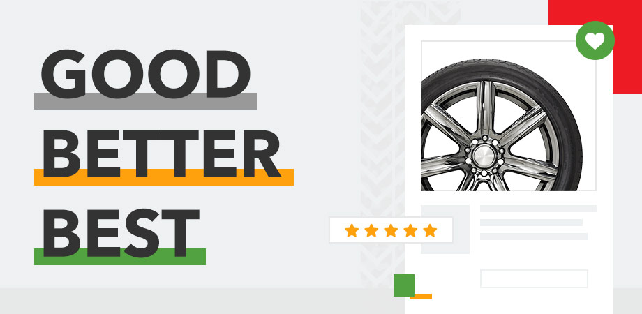 Good Better Best Tire Rating System