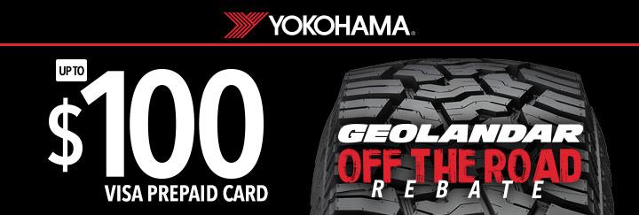 Deals on Yokohama Tires | Find Promotions & Rebates For