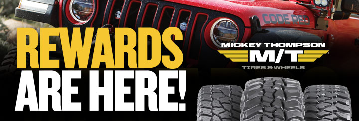 Mickey Thompson Rewards