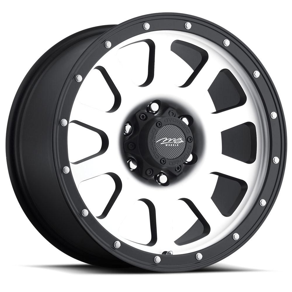 Mb Wheels 352 Wheels Modular Truck Machined Wheels