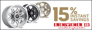 15% Instant Wheel Savings