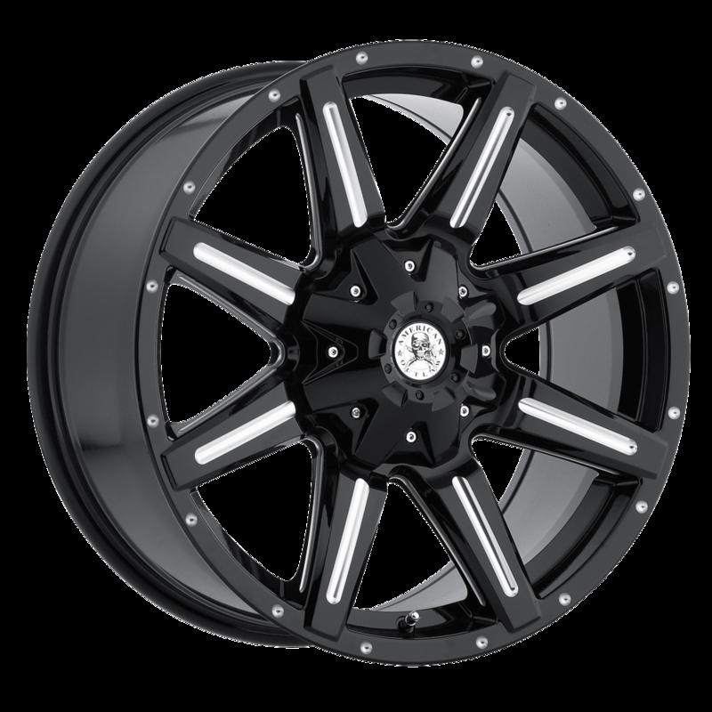 Goodyear Ball Tire >> American Outlaw Ambush Wheels | Multi-Spoke Painted Truck Wheels | Discount Tire