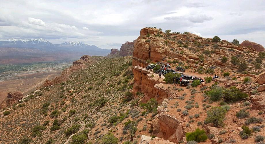 Moab, Utah overlook