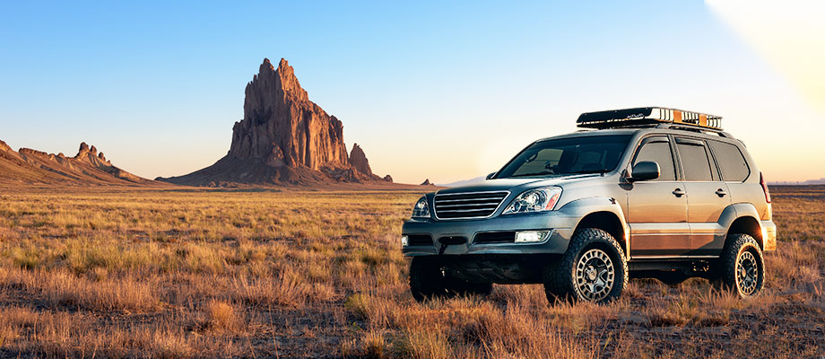 Discount Tire's choices for crossover, SUV and pickup truck tires for New Mexico