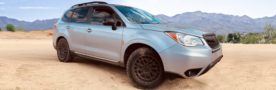 Subaru Forester tires