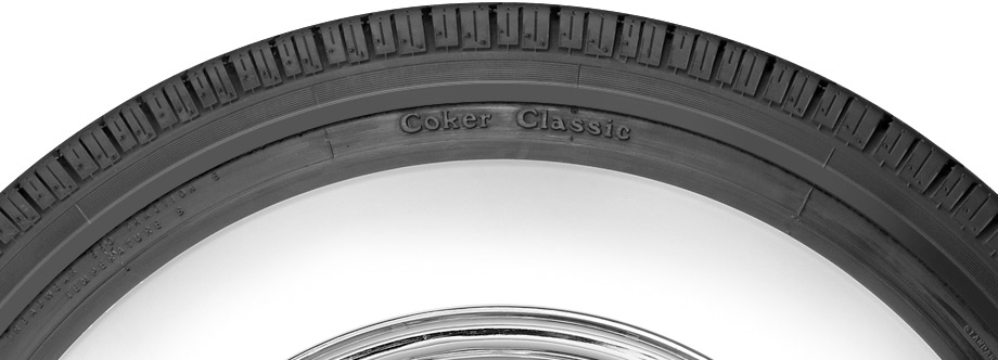 sidewall view of coker classic