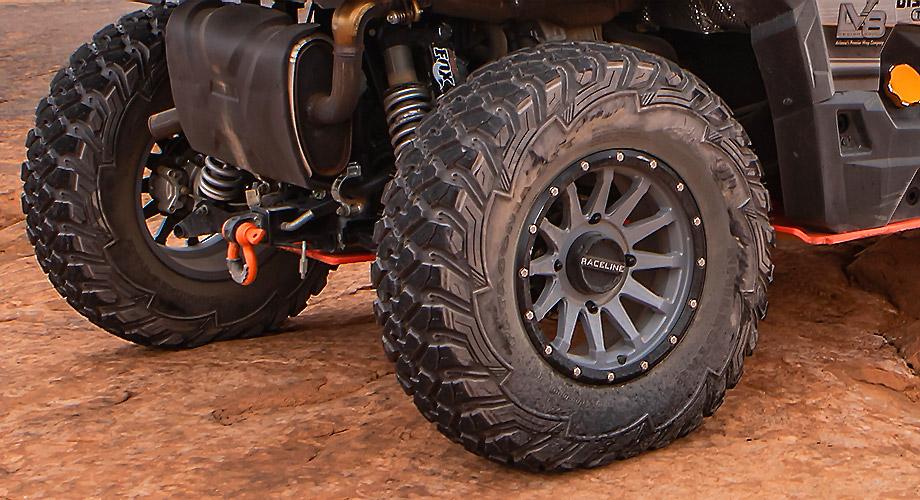 Patagonia tires on Raceline rims
