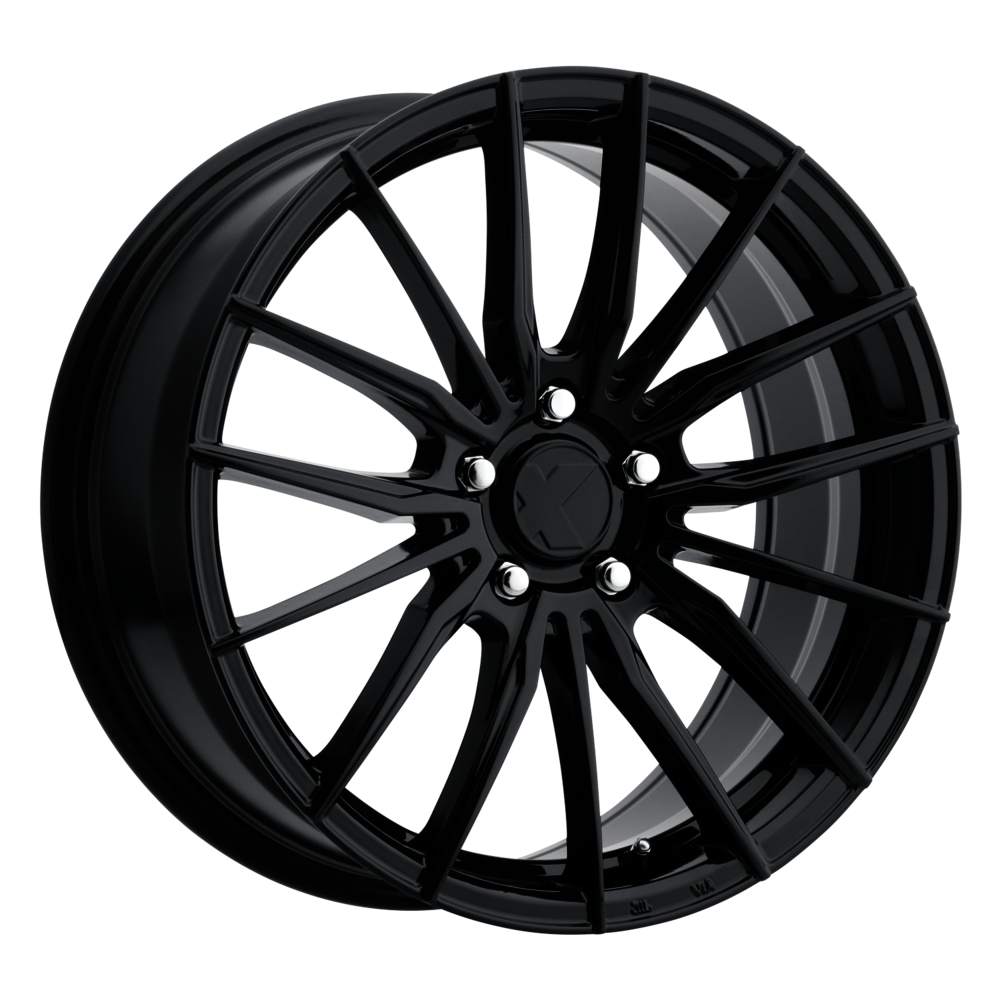 Image of X Wheels ER-1 15 X6.5 5-100.00 40 BKGLXX