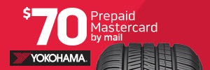 $70 Yokohama Tire Rebate