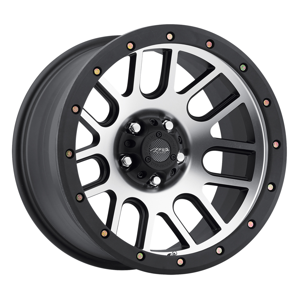 Image of MB Wheels 11 16 X8.5 5-139.70 -6 SLMCBA