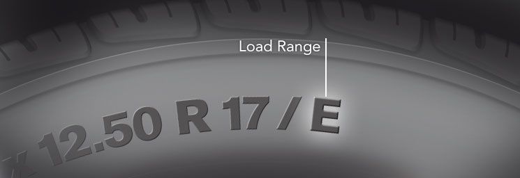 Tire Load Range Load Index Load Range Index Rating Chart