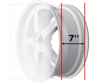 measuring wheel size guide how to measure wheel size discount tire direct. Black Bedroom Furniture Sets. Home Design Ideas