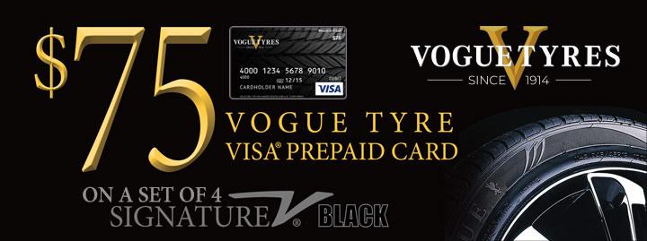 $75 Vogue Tyres Rebate
