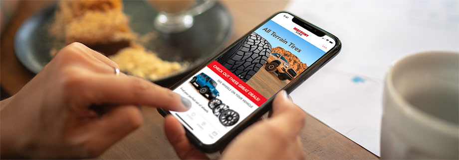 Discount Tire mobile app