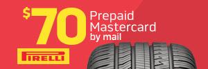 $70 Pirelli Strada Tire Rebate