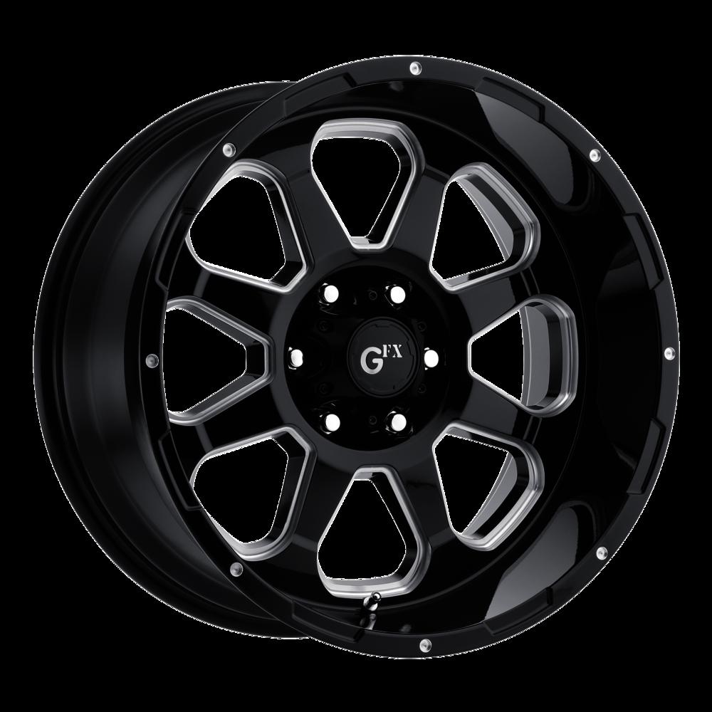 Image of G-FX TR10 20 X9 6-139.70 12 BKGLBM