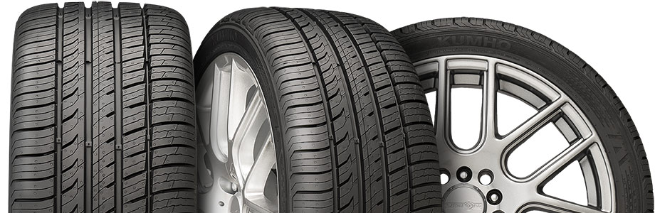 three tire view of kumho ecsta pa 51