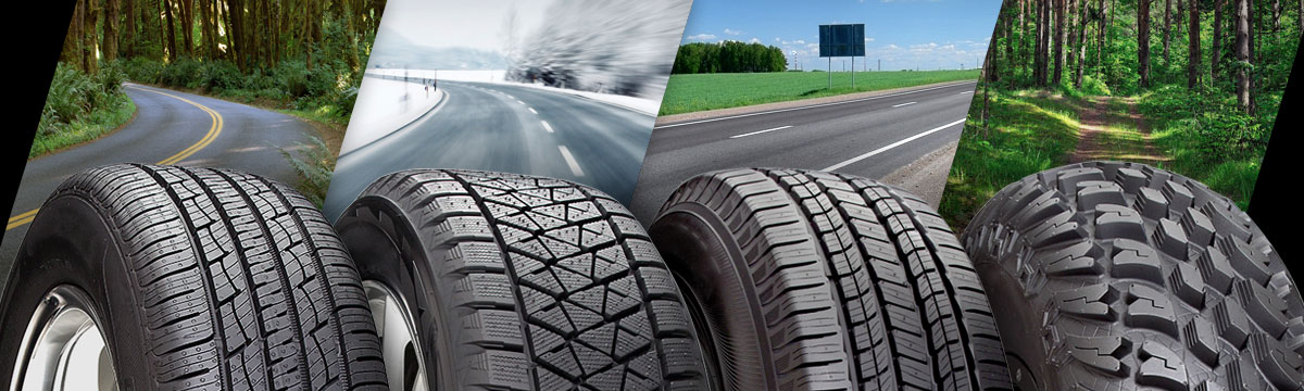 Best Off Road Tire Brand Logo >> Tire Types Different Types Of Tires Discount Tire