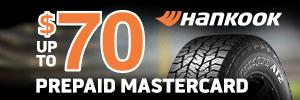 up to $70 Hankook Tire Rebate