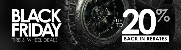 Black Friday Tire and Wheel Deals
