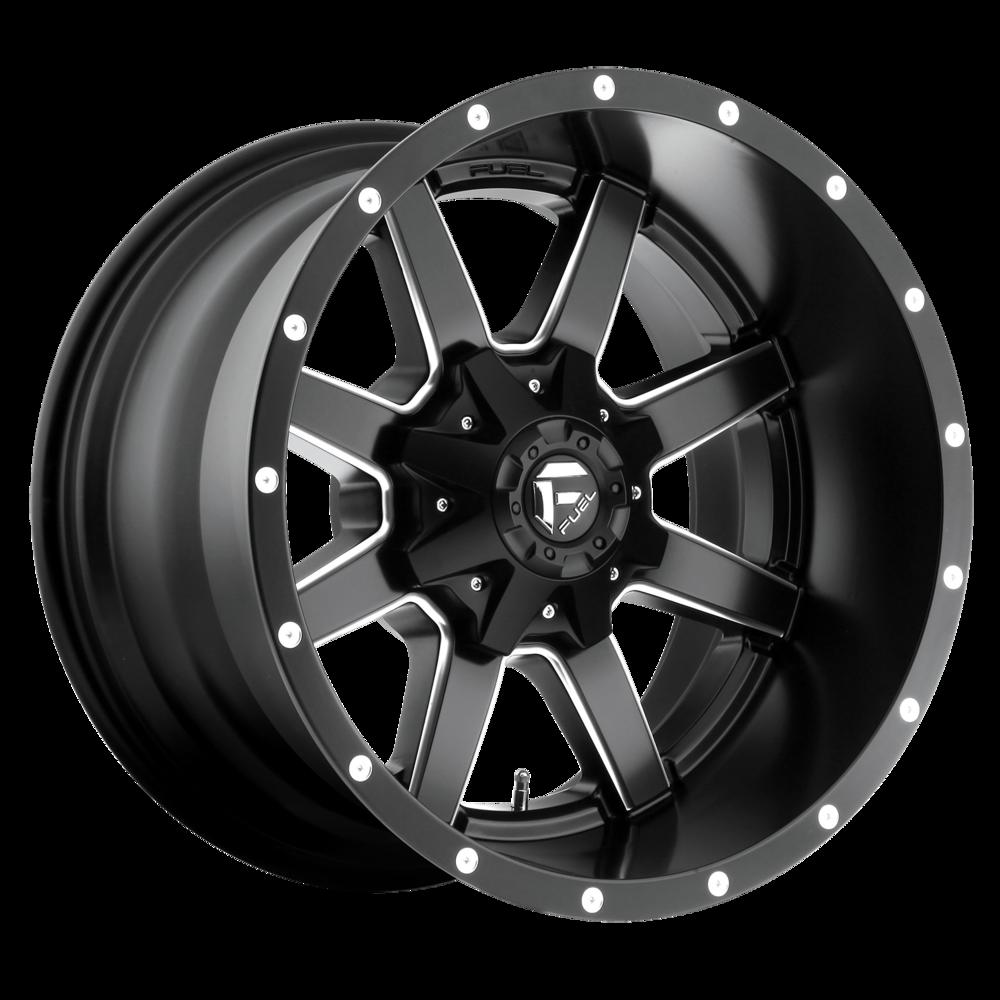 Image of Fuel Wheels Maverick 20 X9 6-135.00/139.70 1 BKMTBM