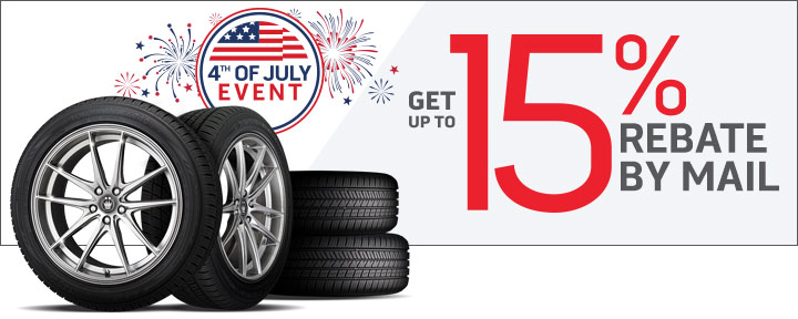 July 4th Tire and Wheel Deals