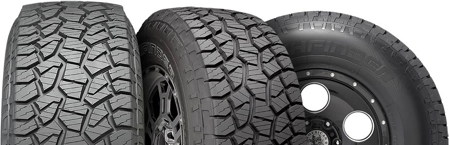 Pathfinder tires