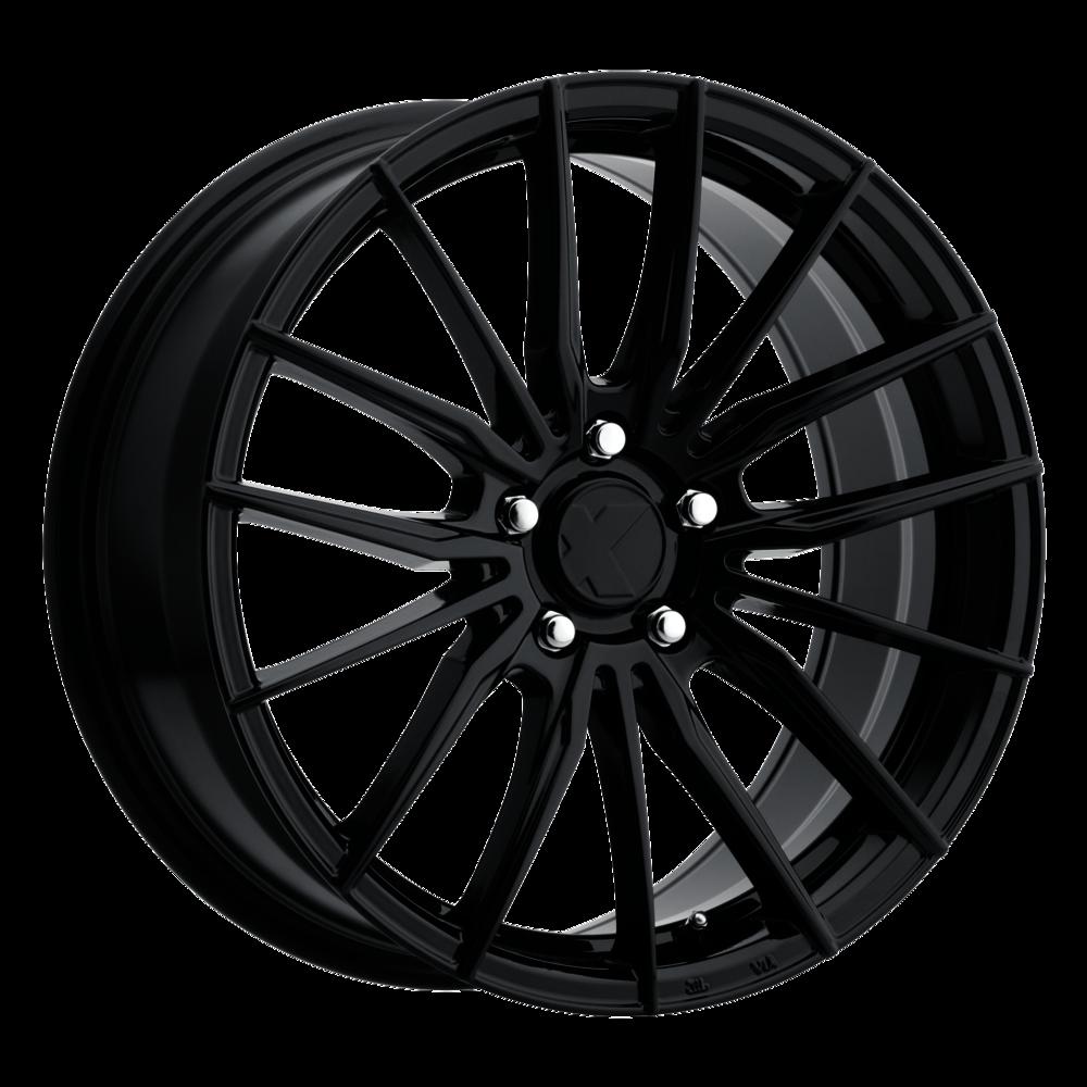 Image of X Wheels ER-1 17 X7.5 5-108.00 40 BKGLXX