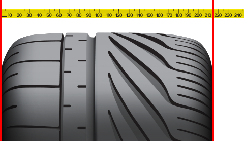 Tire Section Width