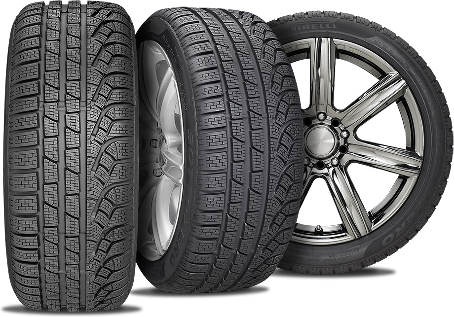 winter tire and wheel packages