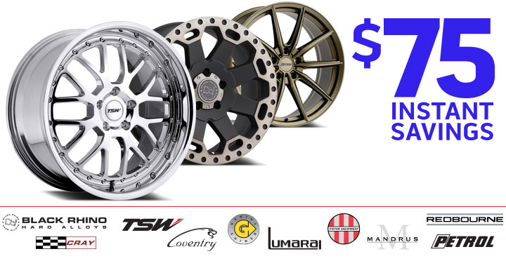 TSW $75 Instant Savings
