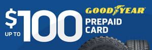 Up to $100 Goodyear Tire Rebate