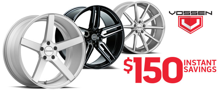 Vossen $150 Instant Savings