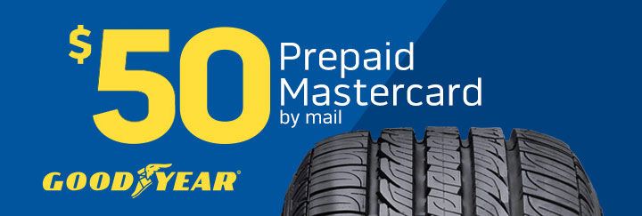 Exclusive Goodyear Rebate