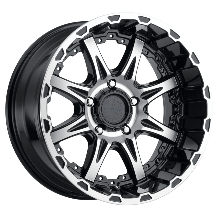 American Outlaw Doubleshot Wheels | Multi-Spoke Machined Truck