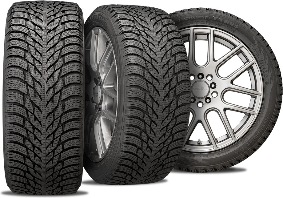 Nokian Hakkapeliitta R3 - winter tires - three views