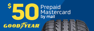 $50 Goodyear Tire Rebate