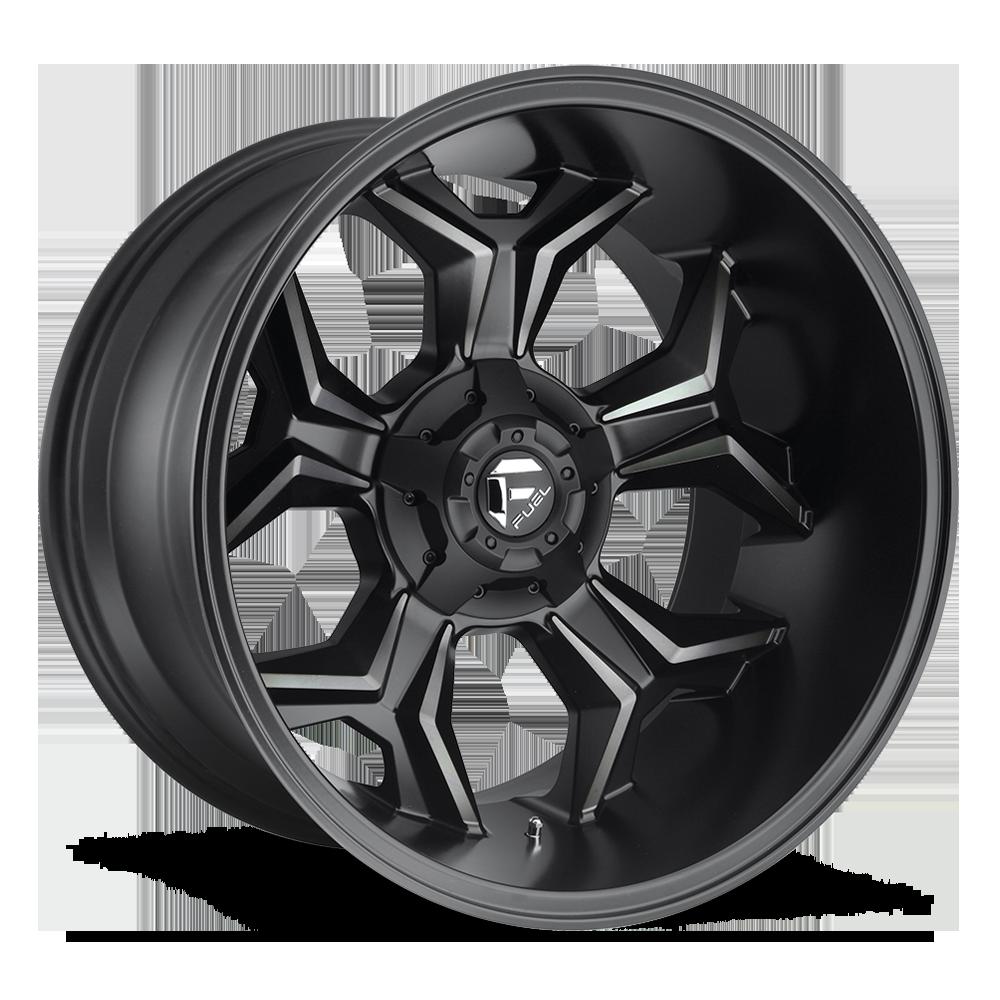 Image of Fuel Wheels Avenger 20 X9 5-114.30/127.00 1 BKMTMS