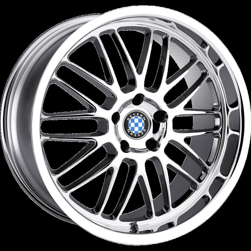 Bmw X8 Series: Mesh Chrome Passenger Wheels