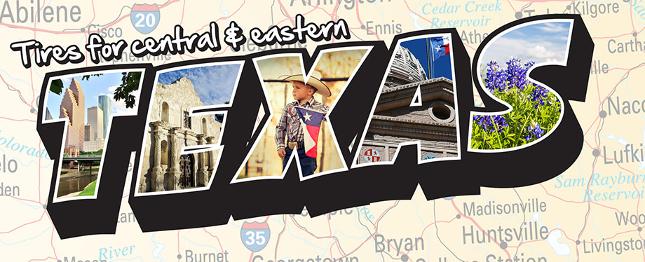 Discount Tire Blog - What are the best tires for east and central Texas?