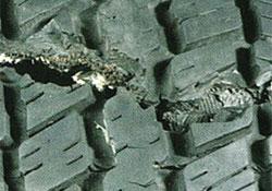 Tire impact break