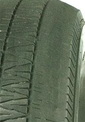 Alignment tire wear