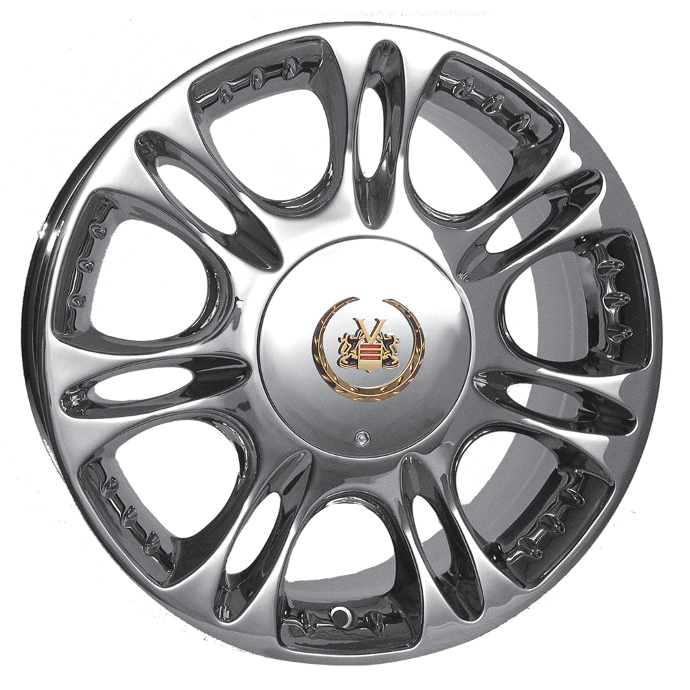 Vogue rio wheels split spoke multi spoke chrome passenger wheelsdiscount tire direct